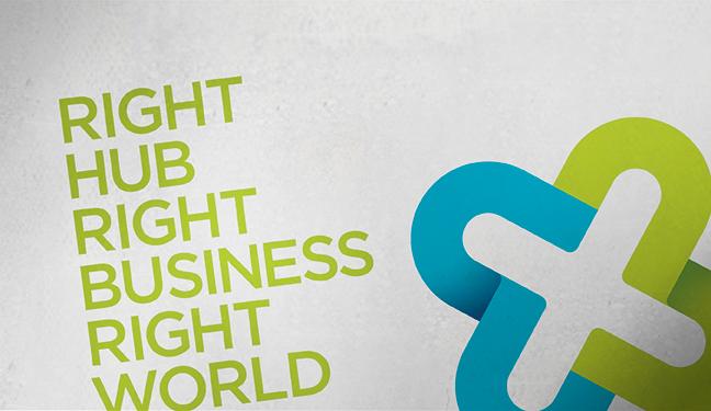 logo claim right hub