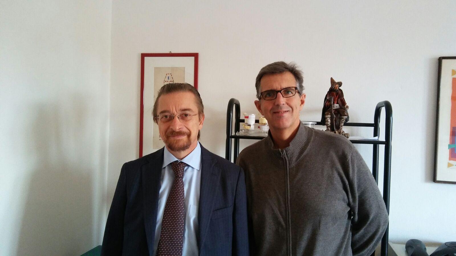 Igino Colella ed Enrico Camerinelli