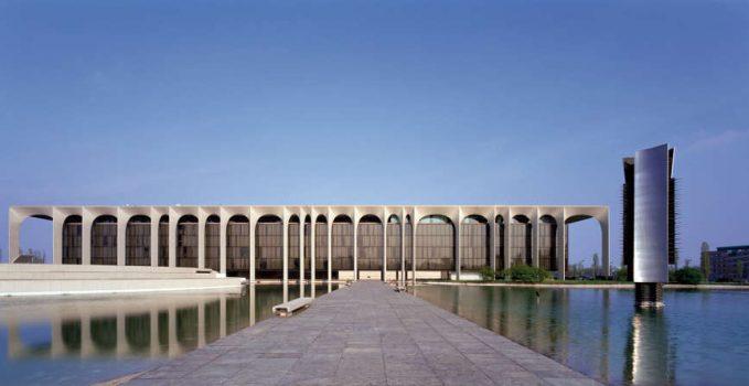Projekt:Verlagsgebäude Mondadori Architekt:Oskar Niemeyer Ort:Segrate,Mailand