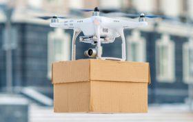 Drone consegna