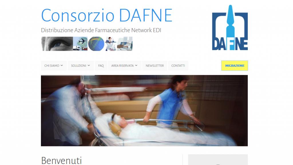 Home sito Dafne