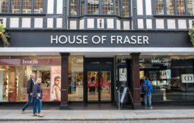 Ingresso di House of Fraser