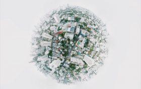 Città vista dall'alto