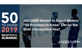 Jaggaer Spend Matters Award