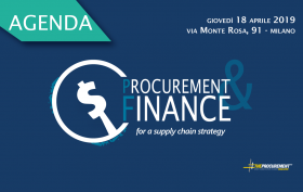 agenda procurement e finance