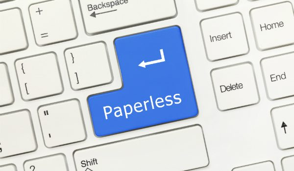 logistica paperless