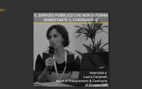 Laura Carpineti - Il servizio pubblico che non si ferma, nonostante il coronavirus