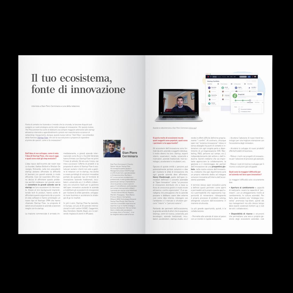 Startup Flow magazine