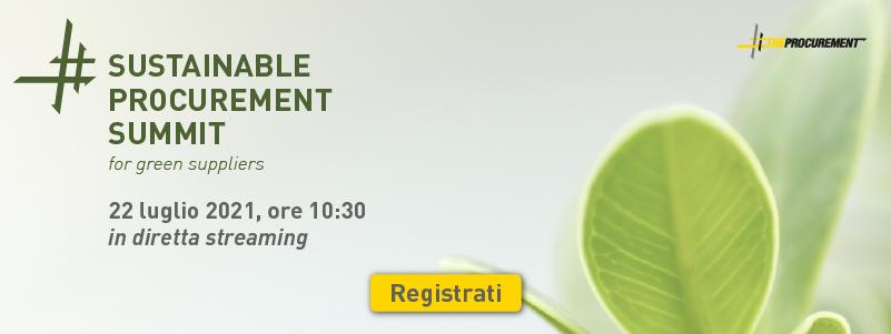 Registrati sostenibilità 2021
